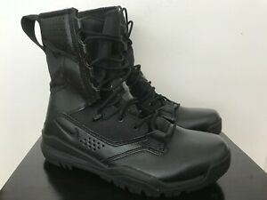 """Mens Nike SFB Field 2 8"""" Tactical Military Combat Hiking Boots Black AO7507-001"""