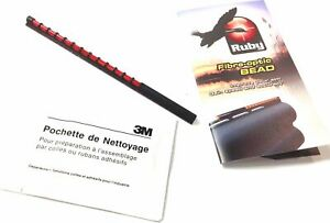 Ruby 120mm Adhesive Shotgun Bead Sight - Red