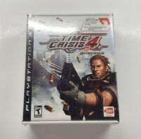 Playstation 3 Time Crisis 4 + Guncon 3 Big Box Bundle BRAND NEW SEALED!! PS3 HTF