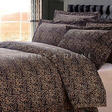 LEOPARD VELVET FUR KING Size Doona Duvet Quilt Cover Animal Print Bedding Set