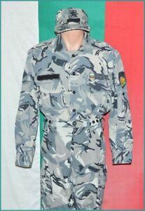 Bulgarian Army Urban Camouflage Air Force whole Uniform Shirt Trousers Cap sz. M