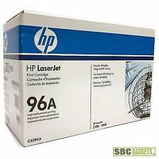 Genuine HP 96A C4096A Black Toner Cartridge 2100 2200 NEW OEM SEALED BOX