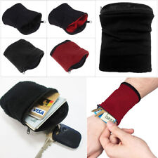 Sports Gym Key Coin Zipper Travel Running Wallet Money Wrist Purse 4Color Pocket
