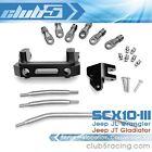 Servo Relocation Conversion Kit for SCX10 III JL Jeep Wrangler / JT Gladiator
