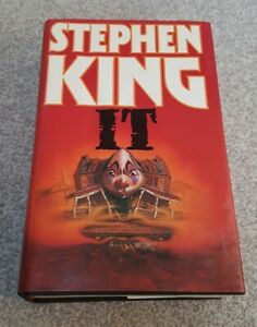 IT BY STEPHEN KING FIRST UK  EDITION WITH DUST WRAPPER