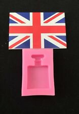 Silicone Perfume Bottle Mould For Cake Decorating