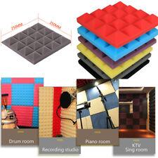 Acoustic Foam Panel Sound Stop Absorption Sponge Studio Soundproof Wall Useful P