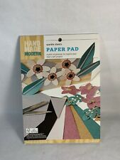 Hand Made Modern Sparkle Sheets Paper Pad