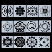 album dekorative schichtung schablonen mandala - scrapbooking bild - vorlage