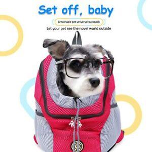 Pet Dog Carrier Puppy Mesh Portable Backpack Travel Front Travel Shoulder Bag