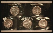 A 10 Piece Set of 2000 P and D State Quarters - In U. S. Mint Packaging - No Env