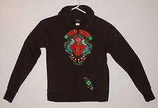 Hard Rock Hotel Seminole Tampa Brown Embroidered HOODIE Jacket Womens S small