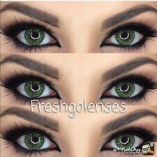2020 Design 3-Tone Yearly Coloured Contact Lenses Make-Up FreshGo + Free Case UK