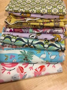 6 Daycare Cotsheets 22x40 Toddler Size all 4 Side Elastic