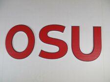 Breting Designs OSU Letters Home Decor Sorority Fraternity Dorm Room Door Wall