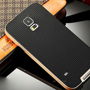 Slim Armor DOT Design Rubber PC Bumper Case Cover For Samsung Galaxy S5 i9600