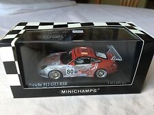 Minichamps Porsche 911 GT3 RSR. 24hrs Le Mans 2005. In 1/43 scale diecast