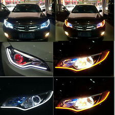 60cm Flexible Car Soft Tube Guide LED Strip Lamp DRL Daytime Running Light