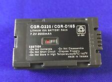 Hitech Battery (Japan Li2A)for Panasonic CGR-D220/D16S,AG-DV1DC Cameras...*SALE*