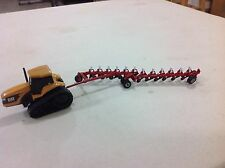"1/64 custom red 12 bottom on-land plow by C&D ""IH"""