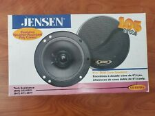"""Jensen 105W 61/2"""" Dual Cone/Car Speakers XS 6510Fp  Weather-Resistant Poly Cones"""