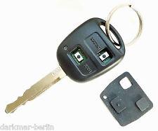TOYOTA Schlüssel Tastenfeld Gummimatte Ersatz passend nur für 2-Tastenschlüssel