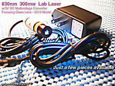 830nm@300mw IR A/C Laser 3V D/C for LAB or NIGHTVISION USE - Powerful / Compact