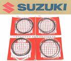 4x Factory Hayabusa Piston Ring Set 99-07 GSX1300 R Busa OEM Rings Kit #Q183