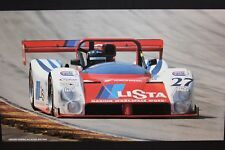 Poster Grand American Road Racing 2001 #27 Ferrari Judd 333 SP Theys / Bentley
