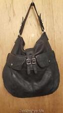 J Crew black leather shoulderbag handbag purse