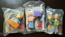 2007 The Simpsons Movie Burger King Kids Meal Toys Ned Baby Maggie Russ Cargill