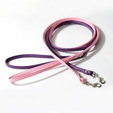 Print Faux Long Hot Collar Leather Training PU Lead For Pet Dog Rope Rope Leash