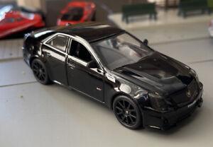 Luxury Die Cast 2009 Cadillac CTS-V 1/43 Loose Black