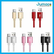 Cable de charge nylon Type C 1M/3M chargeur pour Sony Xperia L1/ XA1/ XA1 Ultra