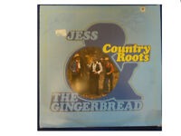 JESS & THE GINGERBREAD * COUNTRY ROOTS * SIGNED  LP TANK BSS.130.LP PLAYS GREAT