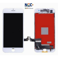 TOUCH VETRO + LCD DISPLAY PER APPLE IPHONE 7 PLUS NCC PARI ALL' ORIGINALE BIANCO