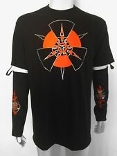 Club Shirt Top Festival Rave Raving Goth Industrial Cyber Cybergoth Long Sleeve