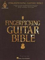 Fingerpicking Guitar Bible Acoustic Fingerstyle TAB Music Songbook