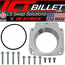 LS Throttle Body Adapter / 3 Bolt Intake to 4 Bolt TB