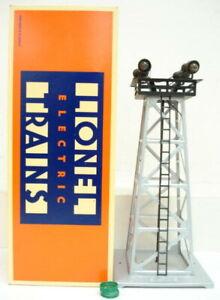 Lionel 6-12886 395 4-Light Floodlight Tower EX/Box