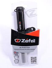 Black Zefal Air Profil Micro Road Bike Small Mini Frame Portable Travel Pump 88g