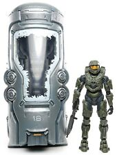 "Halo 4 MASTER CHIEF with UNSC CRYOTUBE 5.25"" Action Figure McFarlane 2012"
