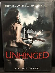 Unhinged (DVD, 2018, Widescreen)-Horror