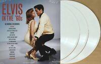 LP x 3 ELVIS PRESLEY In The 60's triple WHITE Vinyl GATEFOLD Sleeve New SEALED