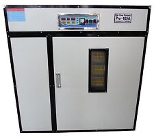 RITE FARM PRODUCTS PRO-1056 CABINET INCUBATOR & HATCHER 1056 CHICKEN EGG CAPACIT