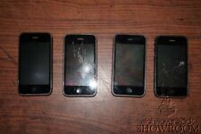 Lot of 4 Used/Untested Apple iPhone 3GS Model A1303 MB715LL/A For Parts/Repairs