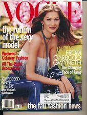 VOGUE July 1999 Fashion Magazine GISELE BUNDCHEN Cover by STEVEN MEISEL