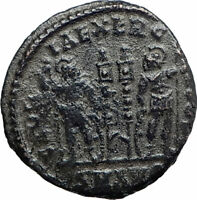 CONSTANTINE II son of  Constantine the Great  Ancient Roman Coin Standard i80554