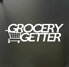 Grocery Getter sticker Subaru WRX STI wagon matrix roadmaster Funny JDM decal