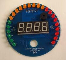 Round LED Bar Graph Power Display - RED - Arduino - ESP8266 - MLP201127